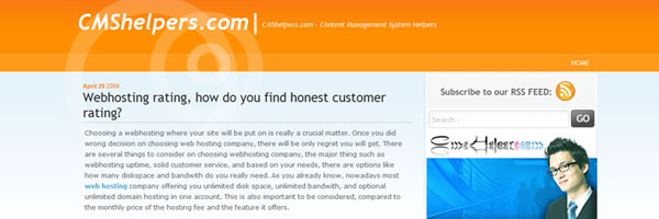 Preview - CMS Helper – SEO, Blogging all CMS tips