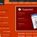 Orange Web2.0 Glype Proxy Theme