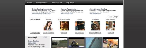 Preview - MotoGP VideoSite – Project Iseng Saja